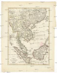 Charte von Ostindien jenseits des Ganges