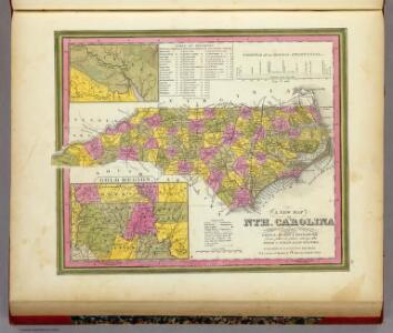 New Map Of Nth. Carolina.