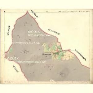 Alt u. Neu Possigkau - c6041-1-001 - Kaiserpflichtexemplar der Landkarten des stabilen Katasters