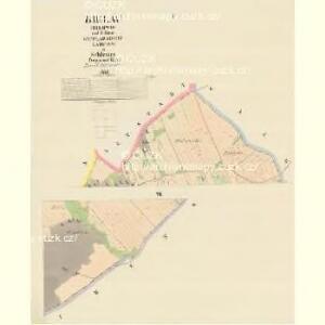 Bielau (Bilowo) - m0083-1-001 - Kaiserpflichtexemplar der Landkarten des stabilen Katasters