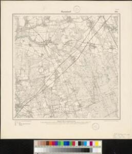 Meßtischblatt 1664 : Barnstorf, 1899