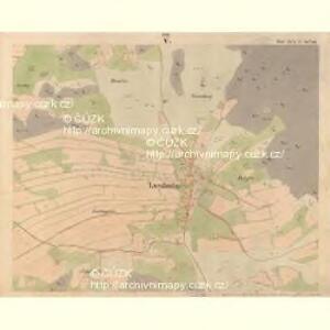 Luschnitz - c5945-2-005 - Kaiserpflichtexemplar der Landkarten des stabilen Katasters