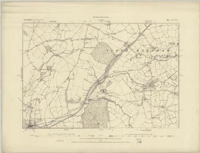Somerset LIV.SW - OS Six-Inch Map