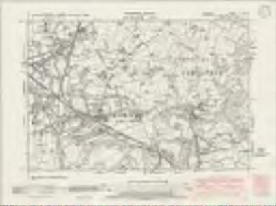 Cheshire XI.SW - OS Six-Inch Map