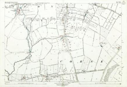 Gloucestershire XVIII.5 (includes: Corse; Staunton) - 25 Inch Map