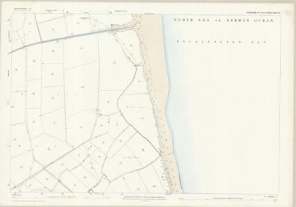 Yorkshire CLXIII.10 (includes: Barmston; Ulrome) - 25 Inch Map
