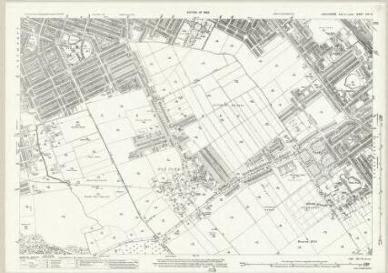 Lincolnshire XXII.12 (includes: Cleethorpes; Grimsby) - 25 Inch Map
