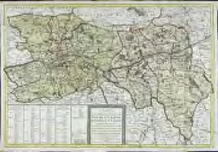 Carte des départemens de Mayne et Loire, d'Indre et Loire
