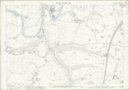 Cheshire XX.1 (includes: Bredbury and Romiley; Hazel Grove and Bramhall; Marple; Stockport) - 25 Inch Map