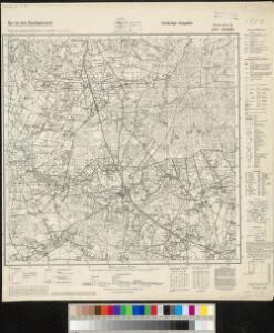 Meßtischblatt 3807, Preuß. 2072 alt : Alstätte, 1939