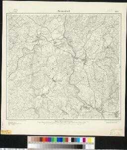 Meßtischblatt 3495 : Hermeskeil, 1908