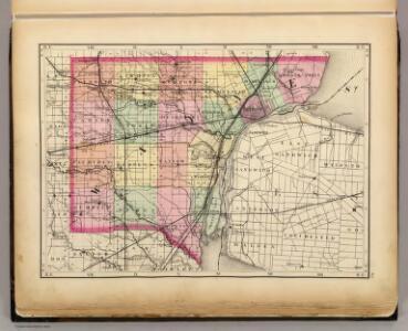 (Map of Wayne County, Michigan)