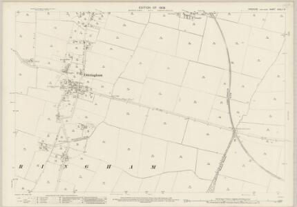 Yorkshire CCXLII.14 (includes: Ottringham; Patrington) - 25 Inch Map