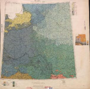Ethnographical map (Eastern Europe). Poland 1918