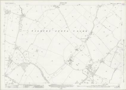 Essex (New Series 1913-) n X.9 (includes: Great Yeldham; Ridgewell; Tilbury Juxta Clare) - 25 Inch Map