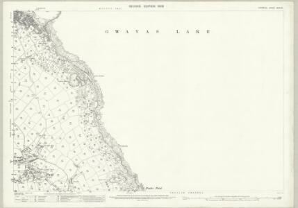 Cornwall LXXIV.10 (includes: Penzance) - 25 Inch Map