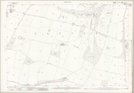 Yorkshire XIV.10 (includes: Aldbrough; Cliffe; Eppleby; Manfield; Stanwick St John) - 25 Inch Map