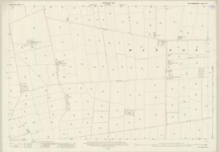 Nottinghamshire III.7 (includes: Misson) - 25 Inch Map