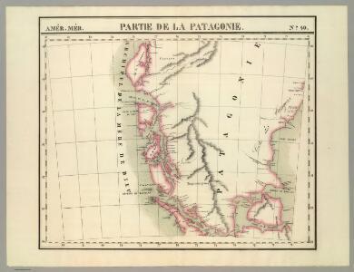 Partie, la Patagonie. Amer. Merid. 40.