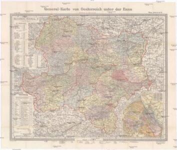 General-Karte von Oesterreich unter der Enns
