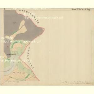 Prerau (Přerow) - m2453-1-011 - Kaiserpflichtexemplar der Landkarten des stabilen Katasters