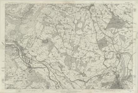 Monmouthshire XXV - OS Six-Inch Map