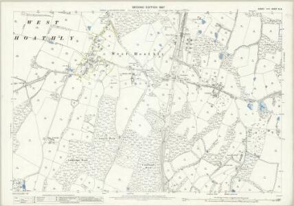 Sussex XV.8 (includes: Forest Row; West Hoathly) - 25 Inch Map