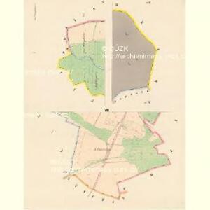 Przestitz (Przestic) - c6218-1-001 - Kaiserpflichtexemplar der Landkarten des stabilen Katasters