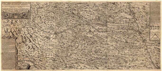 Ilerae Amnis ac Vtrinqve adiacentis Alemanniae Geographica descriptio