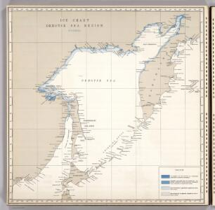 Ice Chart, Okhotsk Sea Region, November.