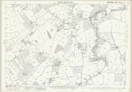 Herefordshire VIII.9 (includes: Brimfield; Little Hereford; Tenbury) - 25 Inch Map