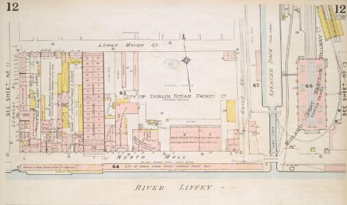 Insurance Plan of the City of Dublin Vol. 1: sheet 12-1