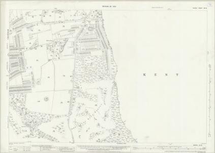 Surrey XIV.12 (includes: Beckenham; Croydon St John The Baptist) - 25 Inch Map