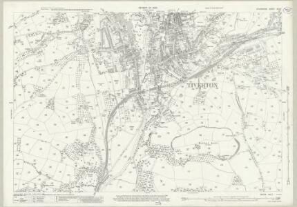 Devon XLV.7 (includes: Tiverton) - 25 Inch Map