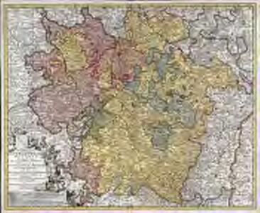 Generalis Lotharingiæ ducatus tabula