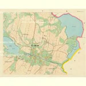 Poschezau - c0443-1-004 - Kaiserpflichtexemplar der Landkarten des stabilen Katasters