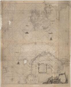 Museumskart 150: Nieuwe zee-kaart van het noorder gedeelte van Europa
