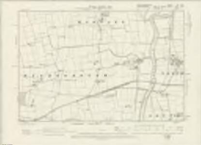 Nottinghamshire XX.NE - OS Six-Inch Map