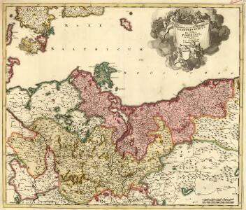 Marchionatus et Electoratus Brandeburgicus, una et Ducatus Pomeraniae in suas subdivisi ditiones