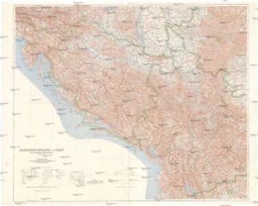 Nordwest-Balkan 1:750 000