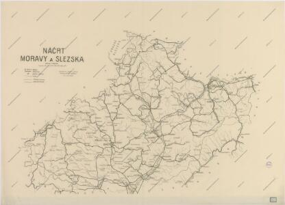 Náčrt Moravy a Slezska