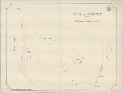 City of Sydney, Sheet O4, 1892