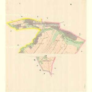 Dörfel (Weska) - m3367-1-001 - Kaiserpflichtexemplar der Landkarten des stabilen Katasters