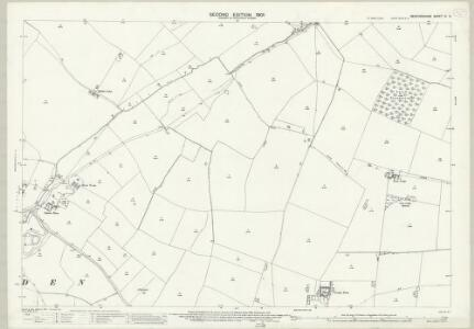 Bedfordshire IV.3 (includes: Dean and Shelton; Melchbourne and Yelden) - 25 Inch Map