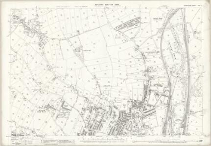 Derbyshire XXV.2 (includes: Chesterfield) - 25 Inch Map