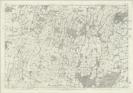 Sussex XXIV - OS Six-Inch Map
