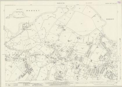 Hampshire and Isle of Wight LXXVII.16 & 12 (includes: Bournemouth; Hampreston; Poole) - 25 Inch Map