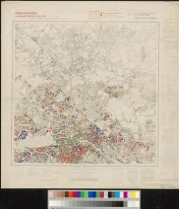 Meßtischblatt 3446 : Berlin (Nord), 1945