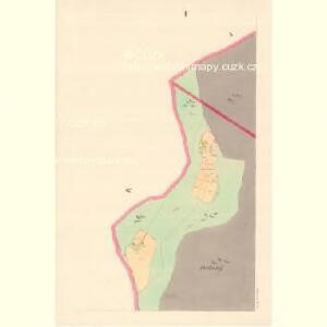 Lomna (Lomno) - m0508-1-001 - Kaiserpflichtexemplar der Landkarten des stabilen Katasters