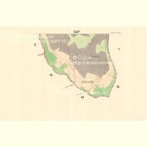 Wrazow (Wracow) - m3464-1-022 - Kaiserpflichtexemplar der Landkarten des stabilen Katasters